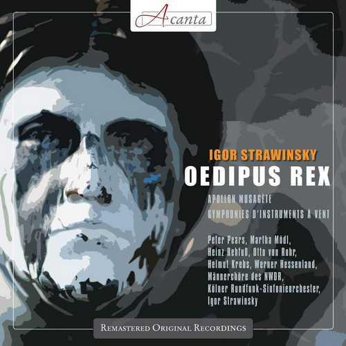 Stravinsky - Oedipus Rex, Apollon Musagète, Symphonies d'Instruments à Vent (FLAC)