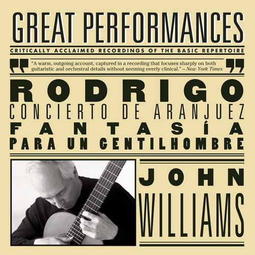 Williams: Rodrigo - Concierto de Aranjuez, Fantasía para un Gentilhombre (FLAC)