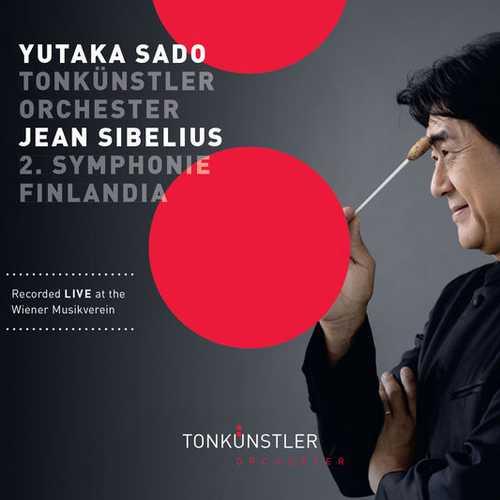 Sado: Sibelius - Symphony no.2, Finlandia (FLAC)