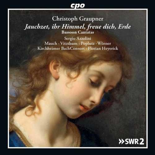 Azzolini: Graupner - Bassoon Cantatas (FLAC)