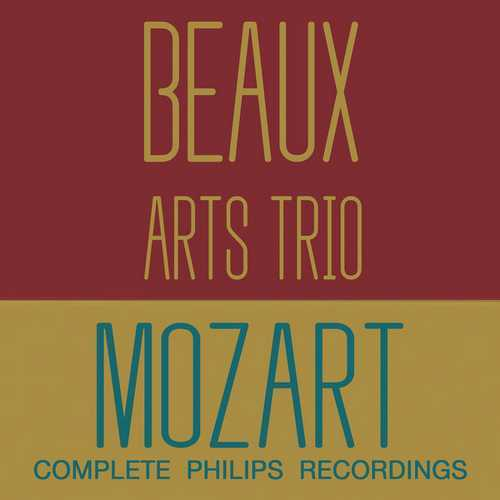 Beaux Arts Trio: Mozart - Complete Philips Recordings (FLAC)
