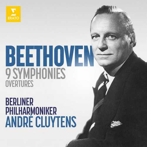 Cluytens: Beethoven - 9 Symphonies, Overtures (24/96 FLAC)