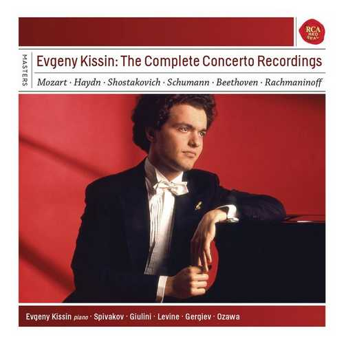 Evgeny Kissin - The Complete Concerto Recordings (FLAC)