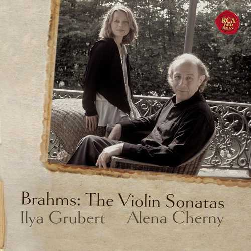 Grubert, Cherny: Brahms - The Violin Sonatas (FLAC)