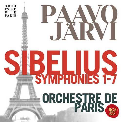 Järvi: Sibelius - Symphonies no.1-7 (24/96 FLAC)