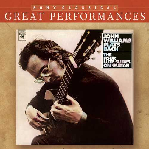 John Williams Plays Bach: The Four Lute Suites on Guitar (FLAC)