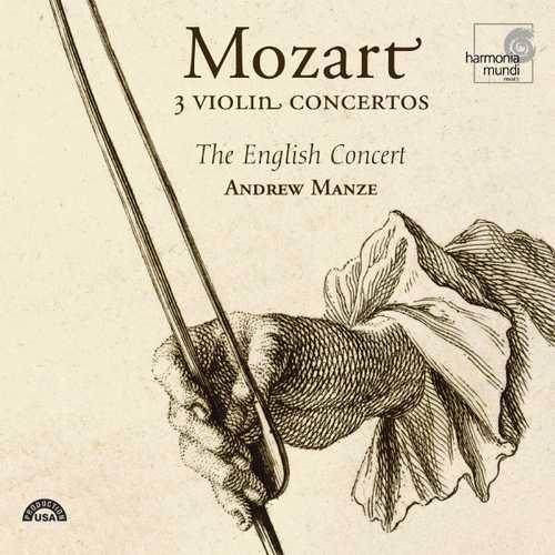 Manze: Mozart - 3 Violin Concertos (24/88 FLAC)