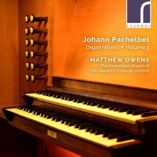 Owens: Pachelbel - Organ Works vol.1 (24/96 FLAC)