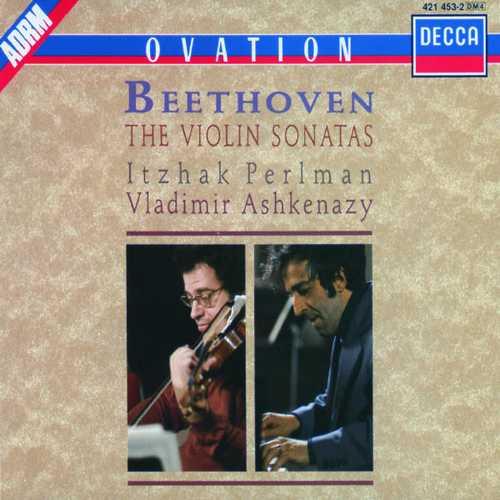 Perlman, Ashkenazy: Beethoven - The Violin Sonatas (FLAC)