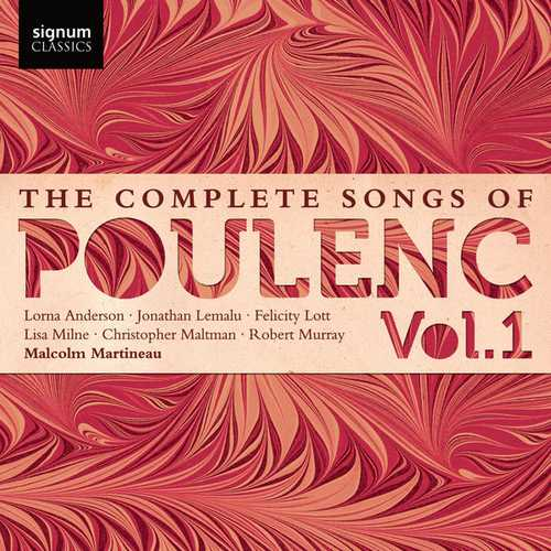 The Complete Songs of Francis Poulenc vol.1 (24/44 FLAC)
