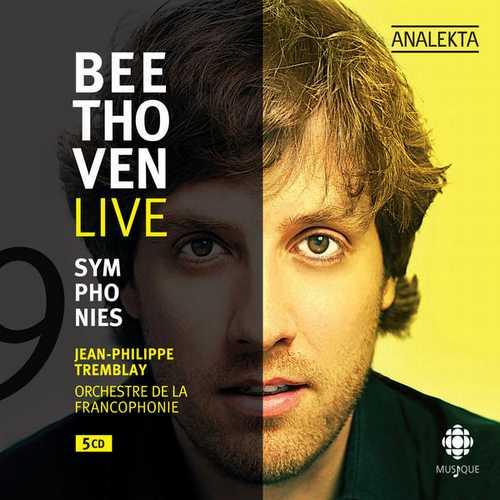 Tremblay: Beethoven Live. 9 Symphonies (FLAC)