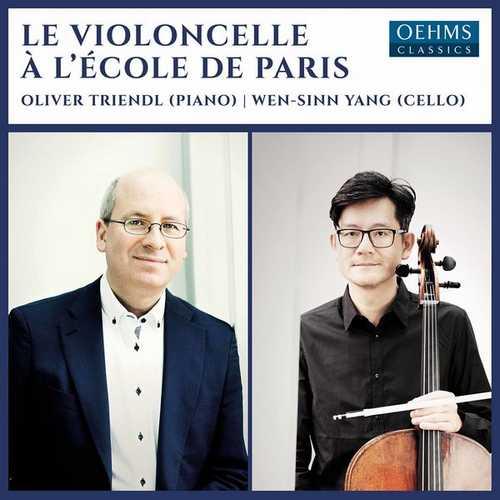 Triendl, Yang: Le violoncelle à l'École de Paris (24/96 FLAC)
