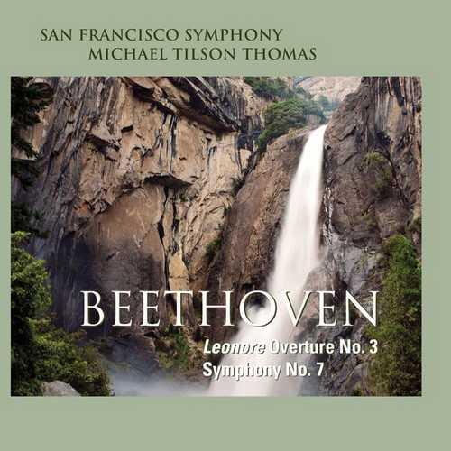 Tilson Thomas: Beethoven - Leonore Overture no.3, Symphony no.7 (24/96 FLAC)