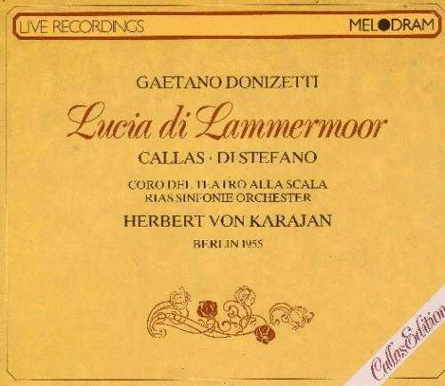 Karajan: Donizetti - Lucia Di Lammermoor (2 CD, APE)