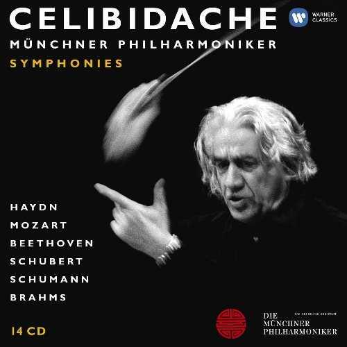 Celibidache - Symphonies (14 CD box set, FLAC)