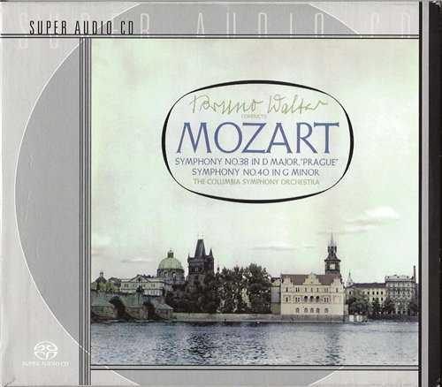 Walter: Mozart - Symphonies no.38,40 (SACD)