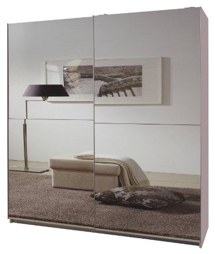 Wimex Kleiderschrank/Schwebetürenschrank Queen, (B/H/T) 180 x 198 x 64 cm, Weiß