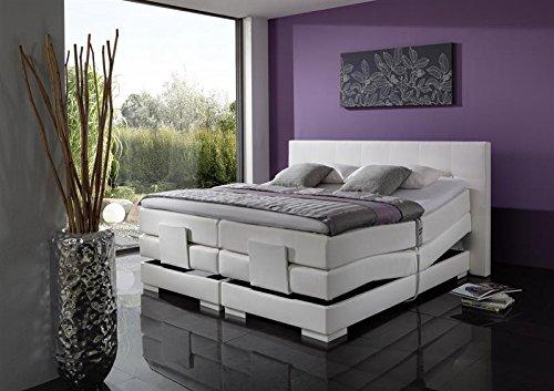 Breckle Boxspringbett 180 x 200 cm Oxford Box Elektro Inspiration Hollanda TFK Topper Gel Comfort