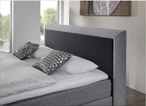 Breckle Boxspringbett 200 x 200 cm Spirit Box Elektro Inspiration Hollanda TFK Topper Gel Comfort