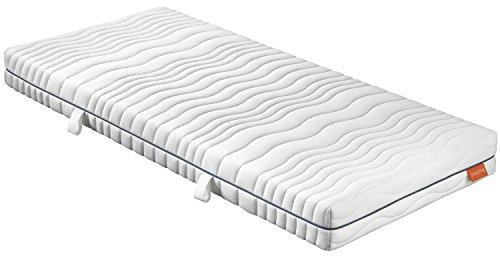 sleepling 190145 Matratze Comfort 130 TFK Härtegrad 2 140 x 200 cm, weiß