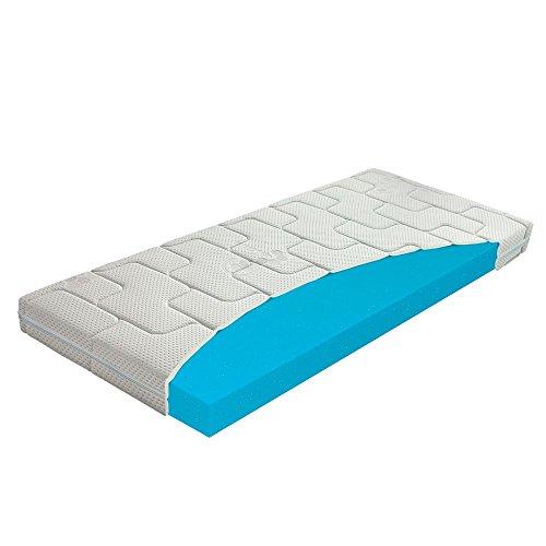 Beste 80x160 Kaltschaum-Matratze für Kinder, Babymatratze für Kinderbett / Krippe, Abnehmbarer, Waschbarer Bezug mit Seealgen-Extrakt im Bezug für Besseren Schlaf & Gesundheit, Höhe 10 cm
