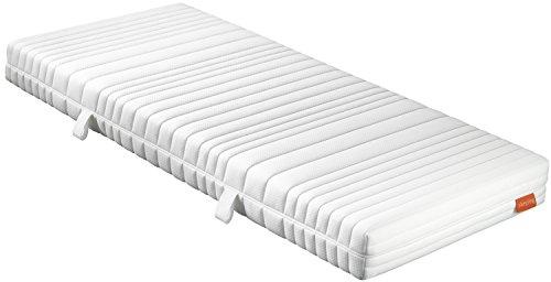 sleepling 190142 Matratze Comfort 110 TFK Härtegrad 2,5 140 x 200 cm, weiß