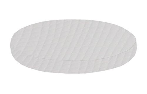 Dibapur ® Excellent 9 Zonen Orthopädische Ø Runde Kaltschaummatratze (EXCELLENT-200 H3) x Kernhöhe 18 cm mit Standard Bezug ca. 19,5 cm (Made in Germany)