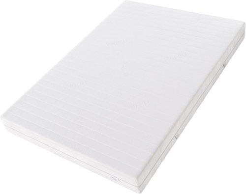 Hilding Sweden Kaltschaum (RG45) Mittelfeste 7-Zonen Matratze für Alle Schlaftypen (H4)/200 x 100 x 21 cm Kaltschaummatratze, Schaumstoff, Weiß, 200 x 100 cm