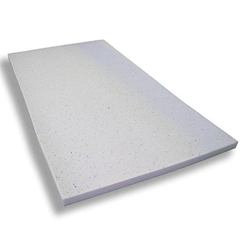 Gelschaumtopper ohne Bezug Betten-ABC® MaGeTo-5 Orthopädische Gelschaum - Passt sich dem Körper an - Grösse 140x200