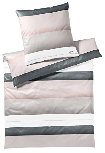 Joop Mako Satin Bettwäche Purity 4073-011-135x200 80x80 rose