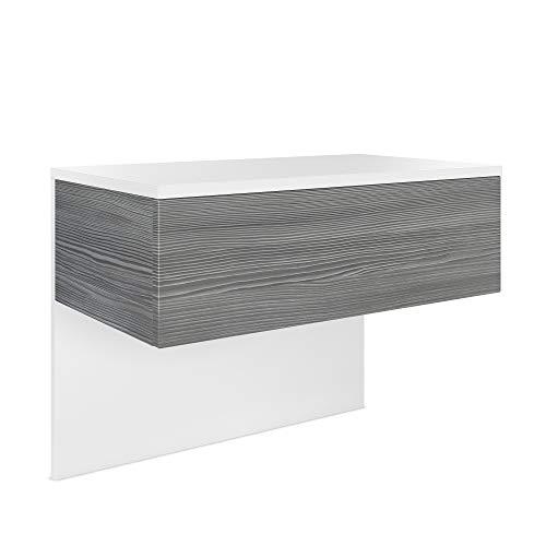 Vladon Nachttisch Sleep ohne LED Beleuchtung, Holzwerkstoff