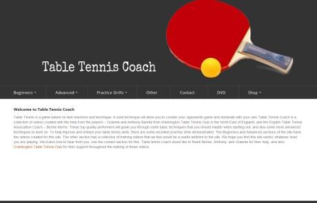 Table Tennis Coach