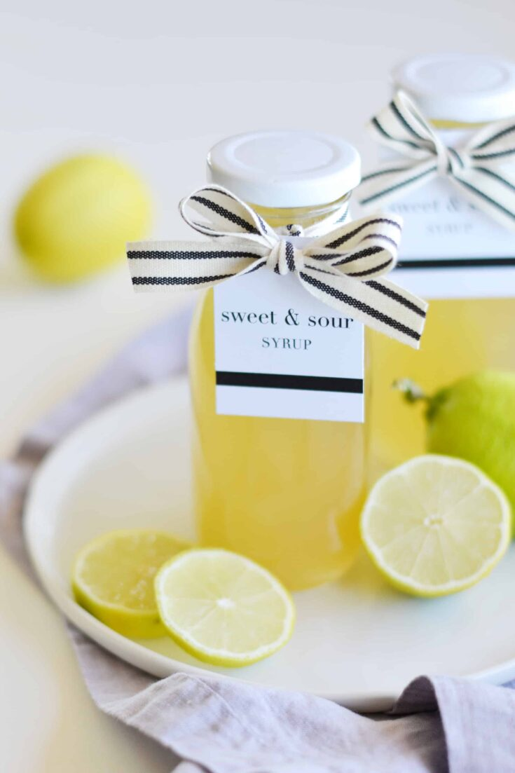 Easy Homemade Sour Syrup