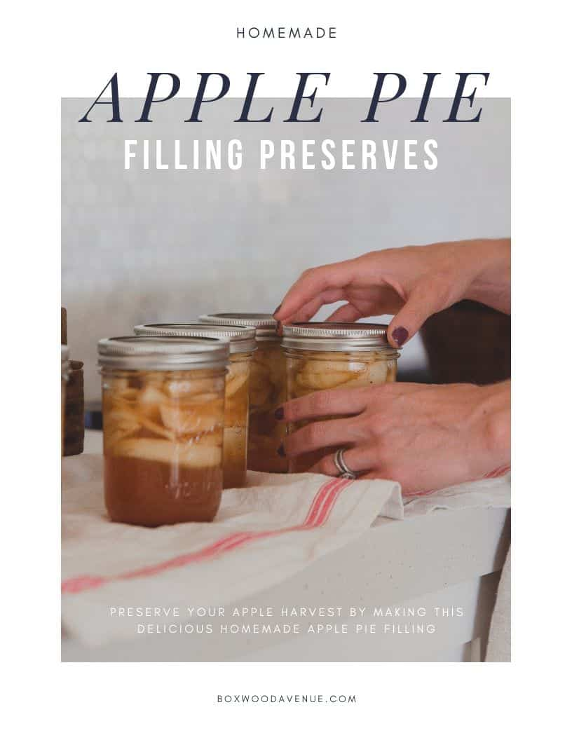 Preserve ripe apples to be enjoyed all year long with this delicious homemade apple pie filling recipe!
