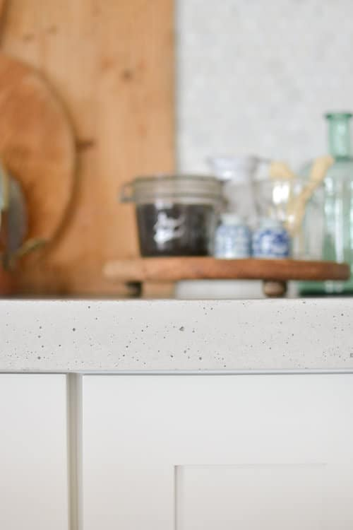Oh concrete countertops, we have such a tumultuous relationship, but…we are set in stone forever, so I will embrace all of your quirks.