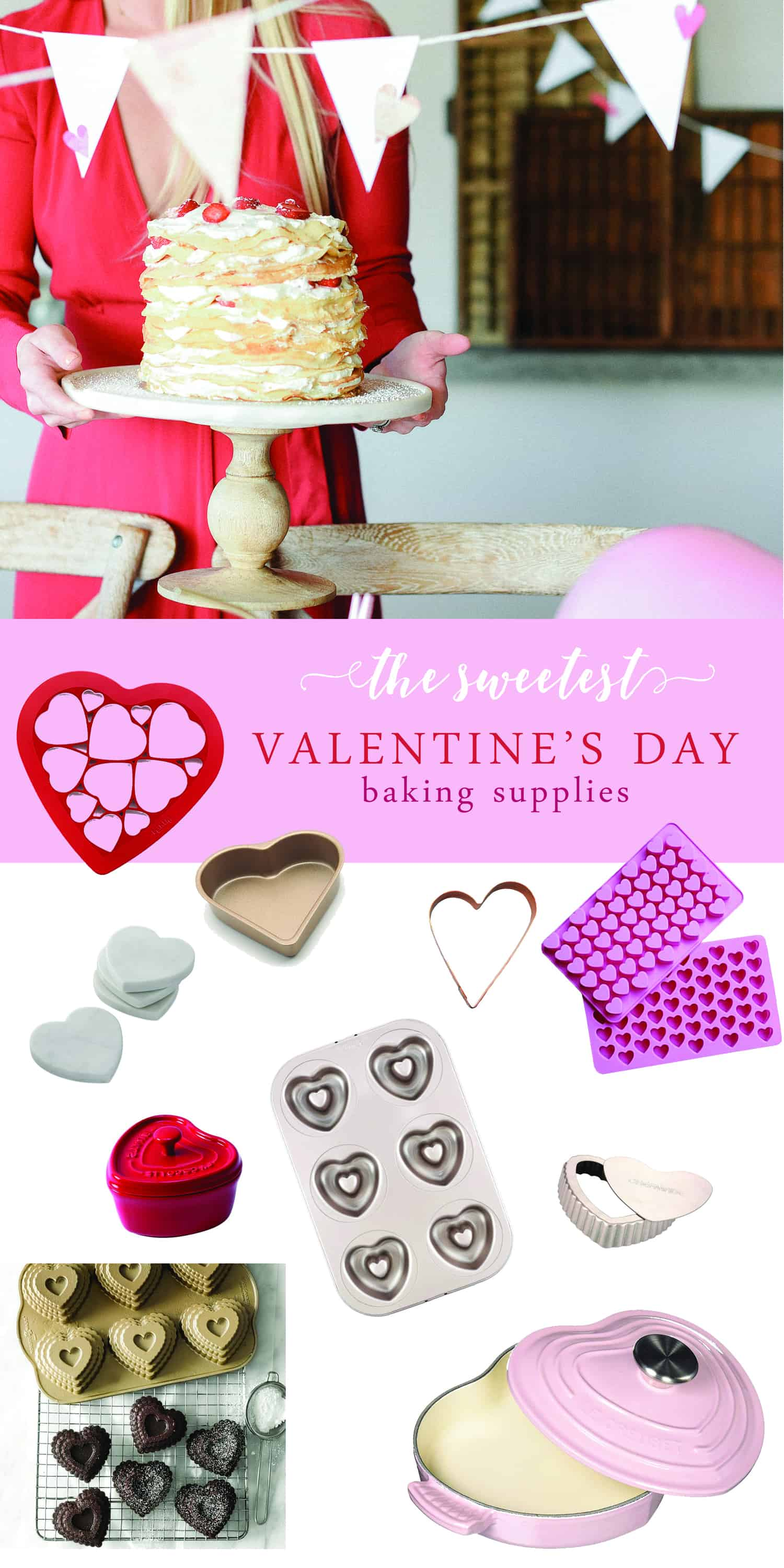 Valentine's Day is a time to celebrate love, and a great excuse to bake! Any time something is in the shape of a heart, it's just that much more special! These Valentine's Day baking supplies are the perfect way to make your Valentine's Day extra sweet this year!