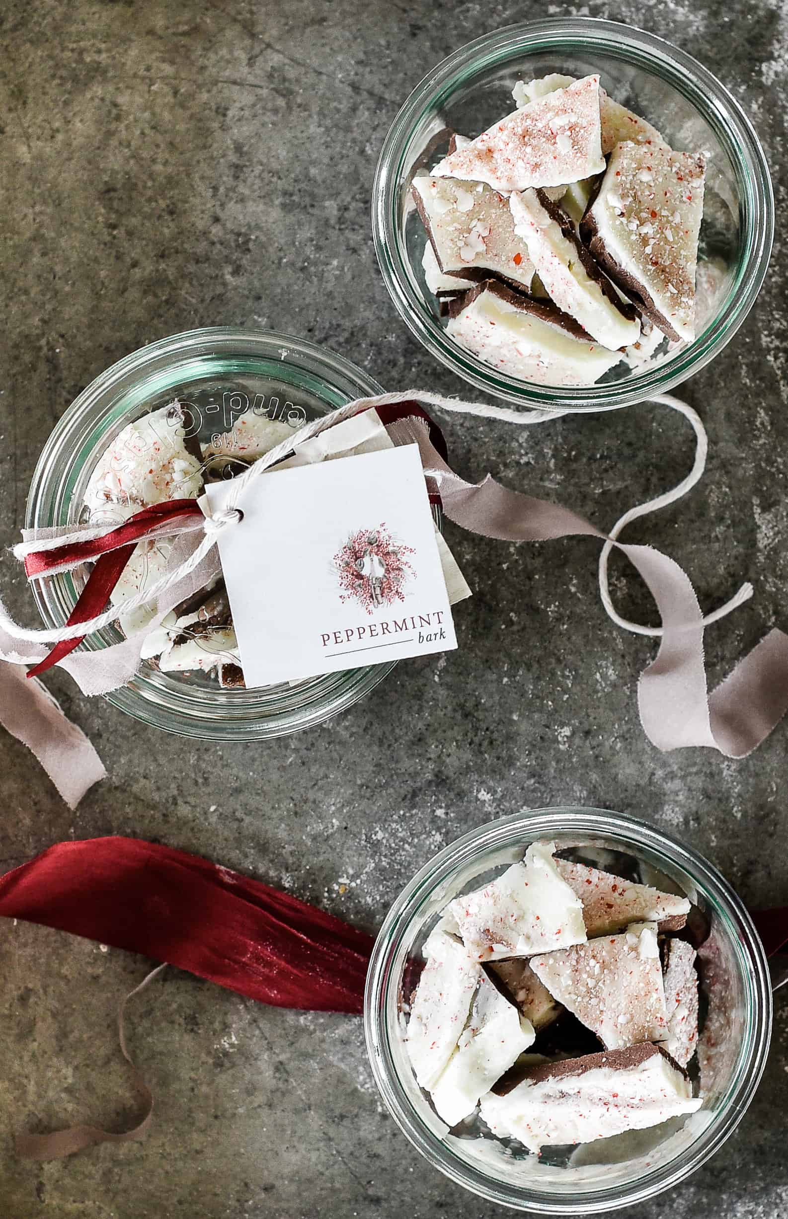 Make this homemade peppermint bark recipe as an easy handmade gift this holiday season! You won't believe just how simple this homemade peppermint bark recipe is!