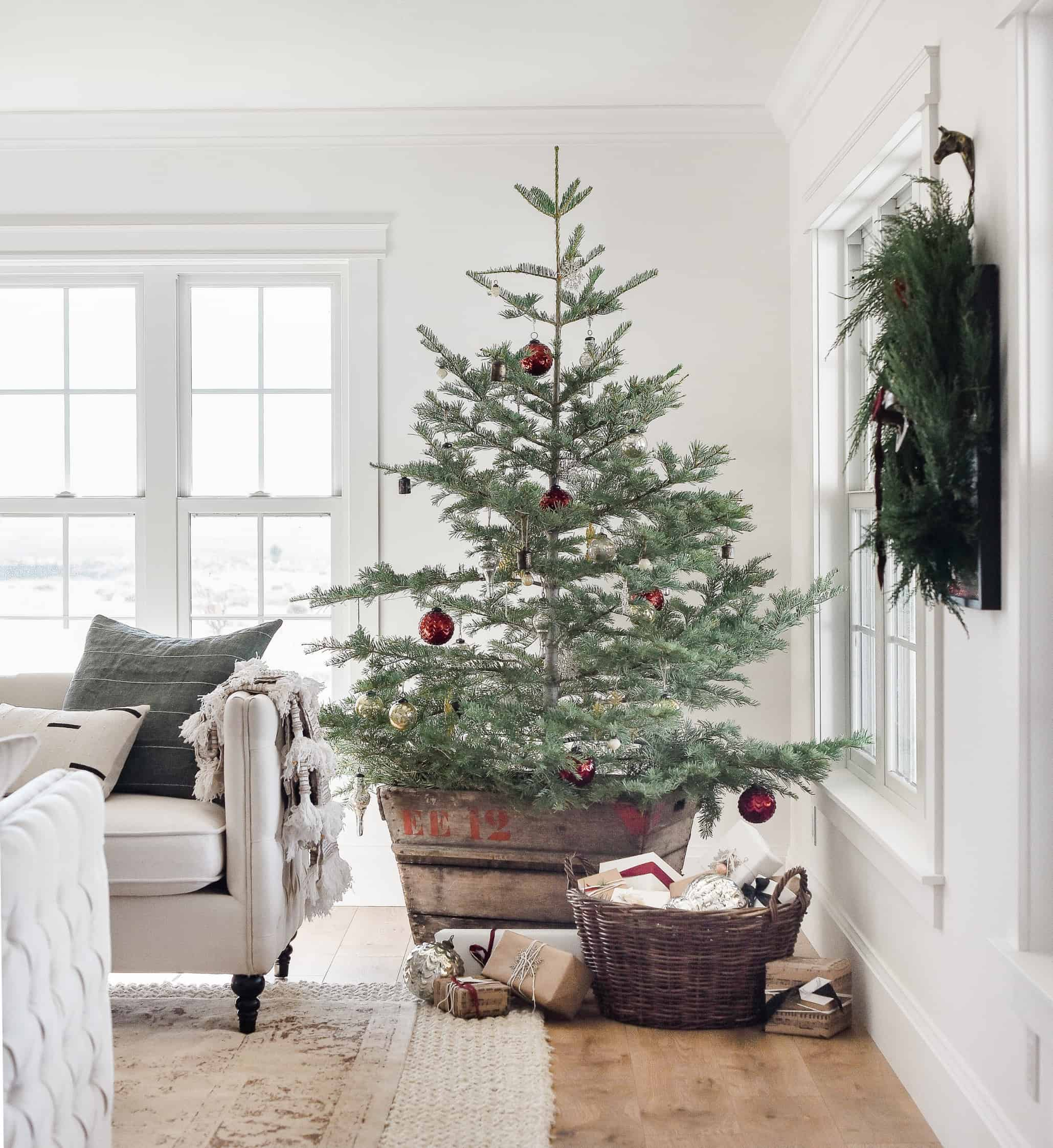 small living room christmas decor ideas