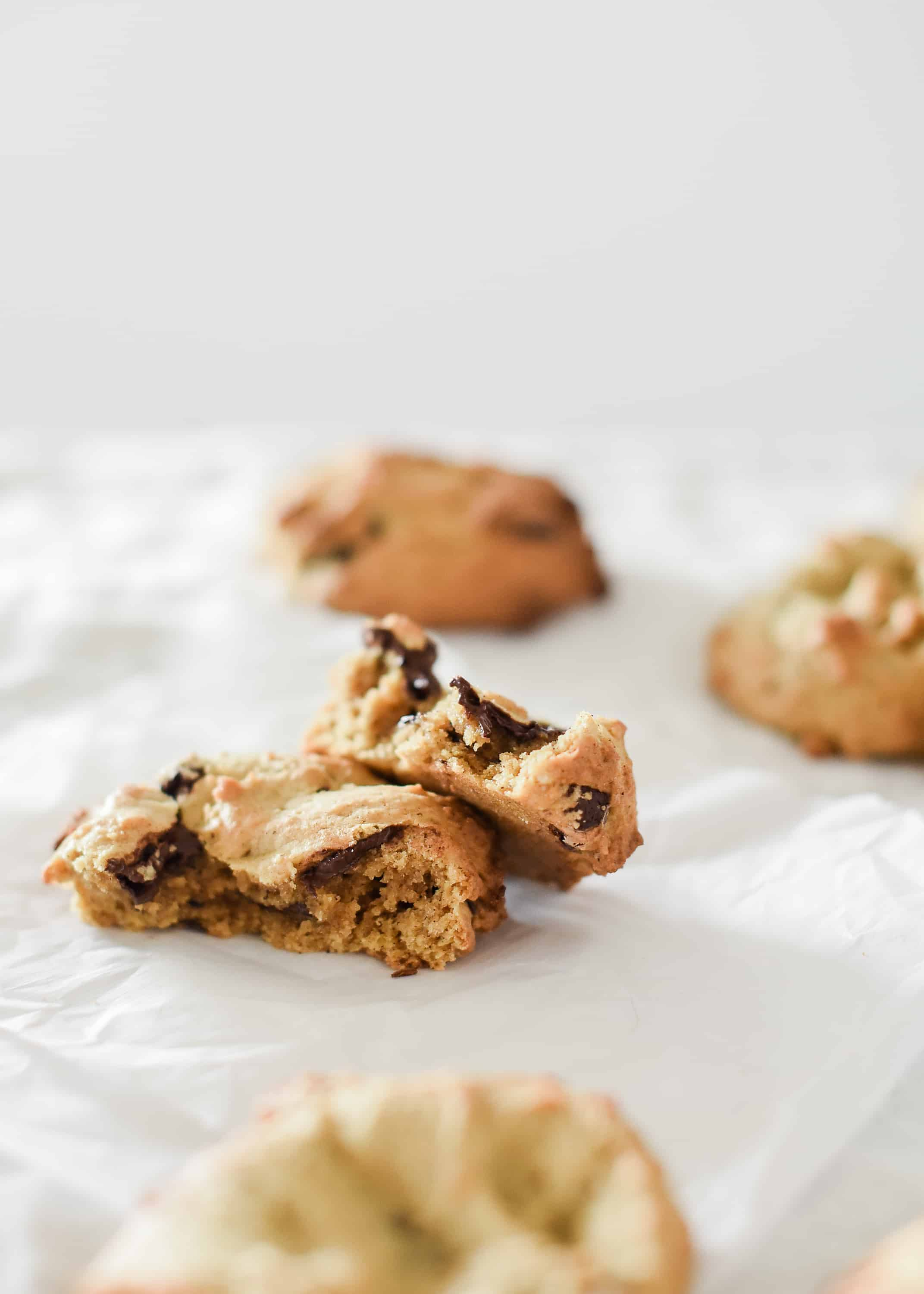 Of all the pumpkin recipes I've shared, these pumpkin chocolate chip cookies just might be my favorite. Baked to golden perfection, they are chewy, savory, sweet, and melt in your mouth good…you're going to love these!