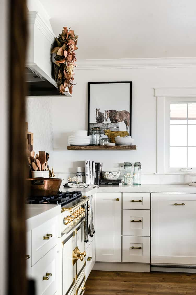 our white shaker kitchen cabinets - boxwood ave