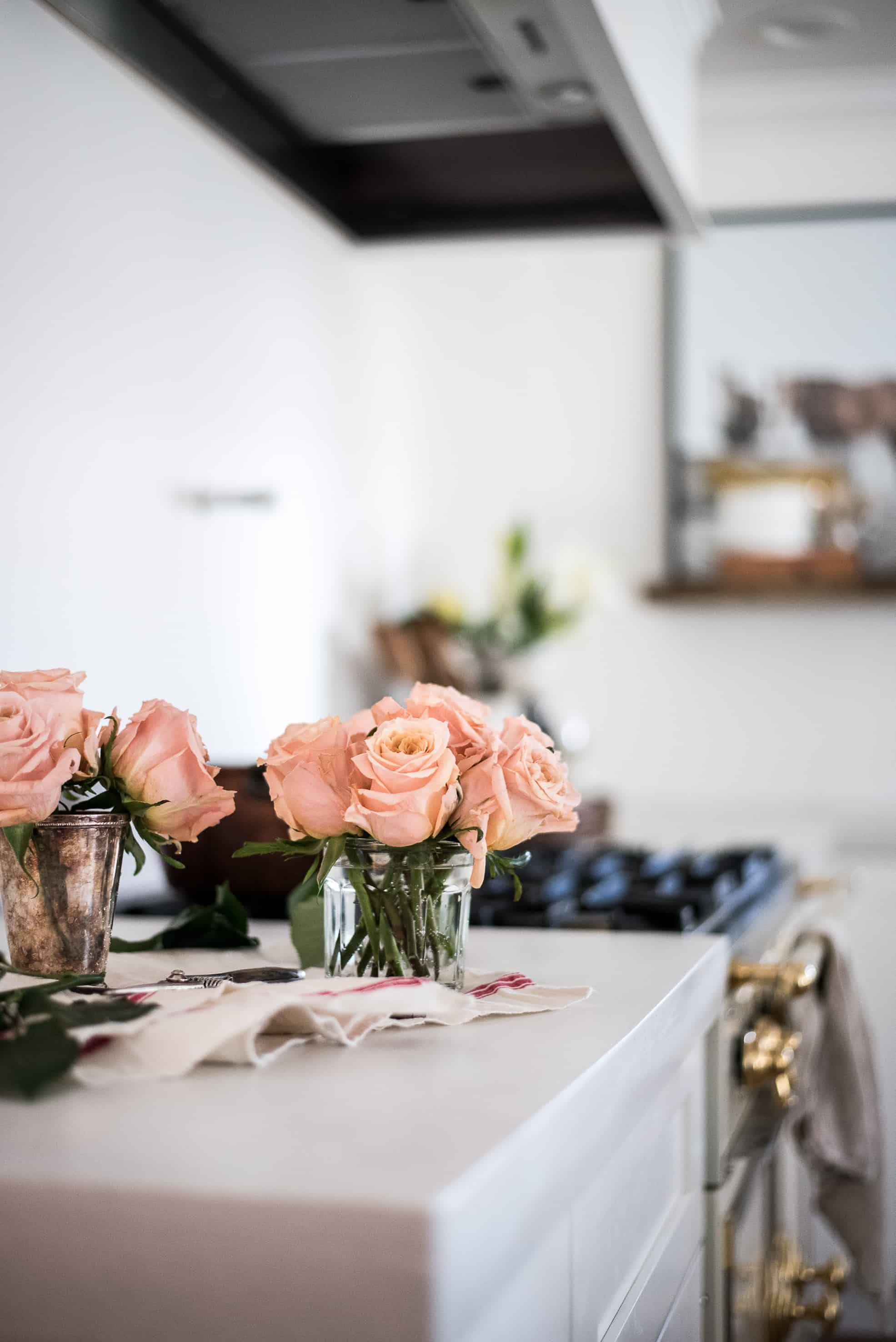 A peek into our almost finished kitchen!Join me for the Simply Summer home tour and visit 20 other blogging friends' summer homes!