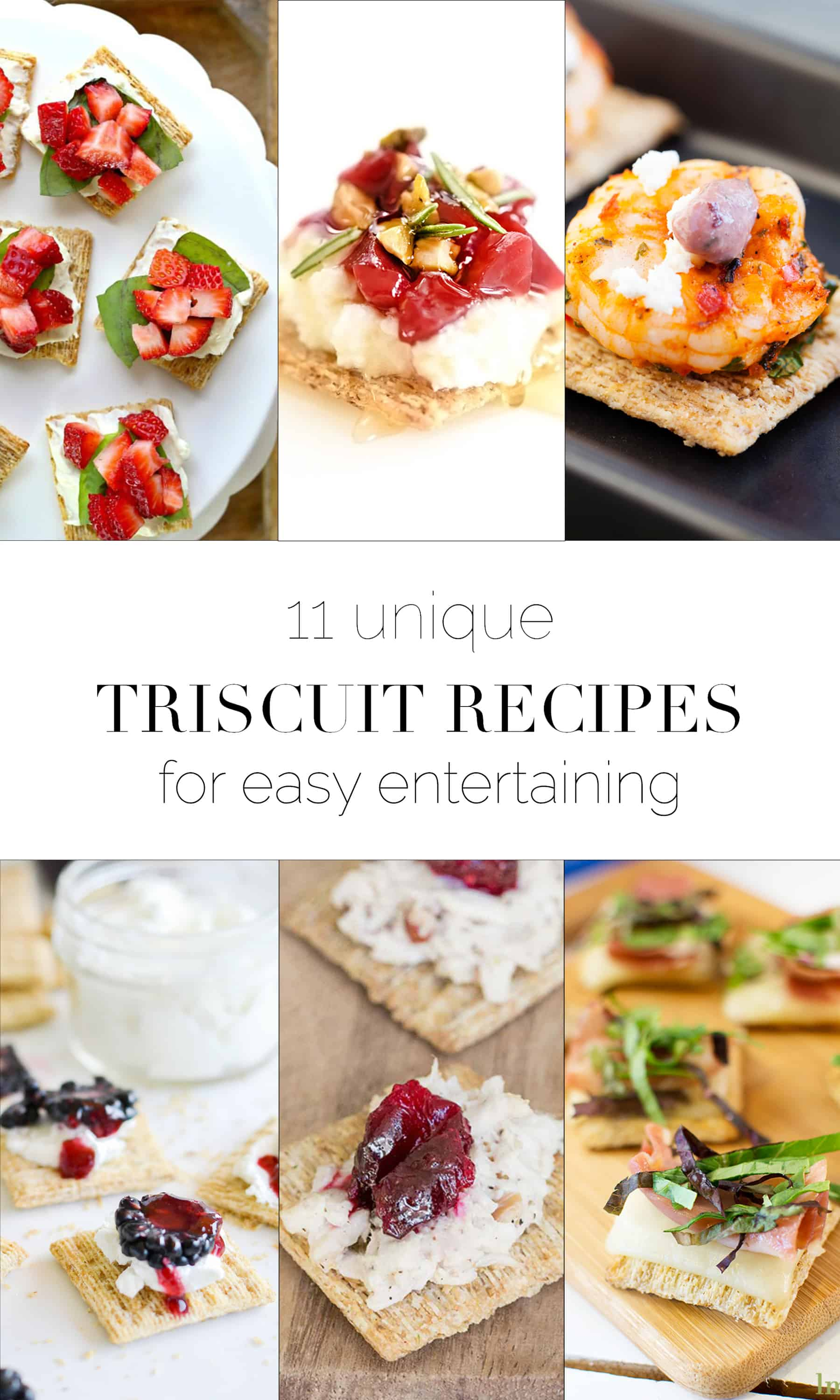 Triscuit Recipes for Entertaining