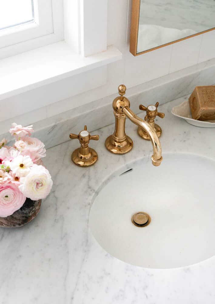 The Best Brass Faucet For Your Bathroom Budget Boxwood Ave