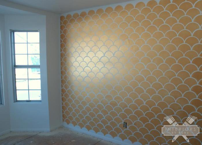 interiorsbykenz-Gold-Scallop-Accent-Wall-4