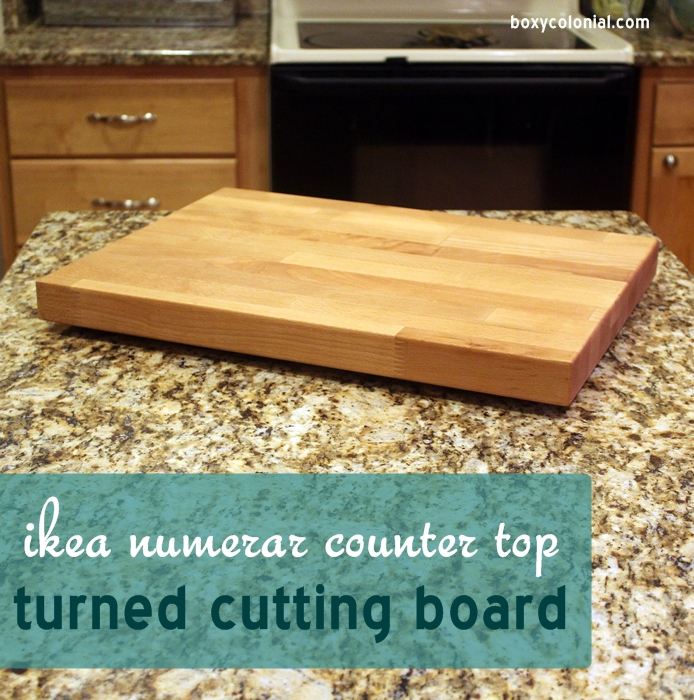 Diy Wooden Cutting Board From Ikea Numerar Scraps