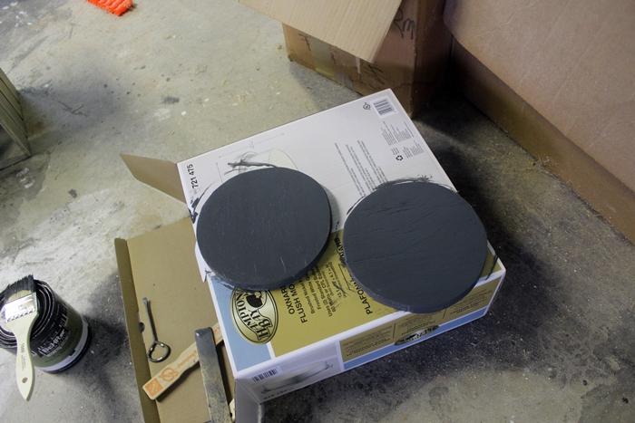 painted stove burners
