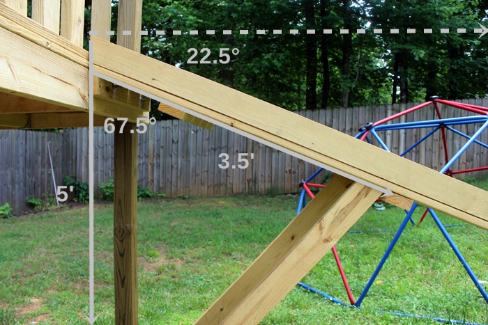 Dave's ramp with angles markes
