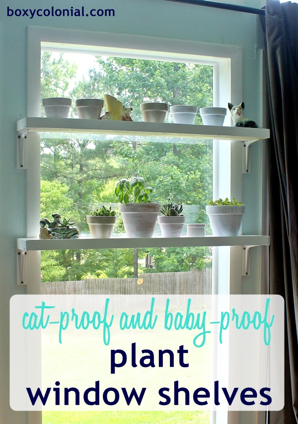 Diy window plant shelves - How to hang plants in front of windows ...