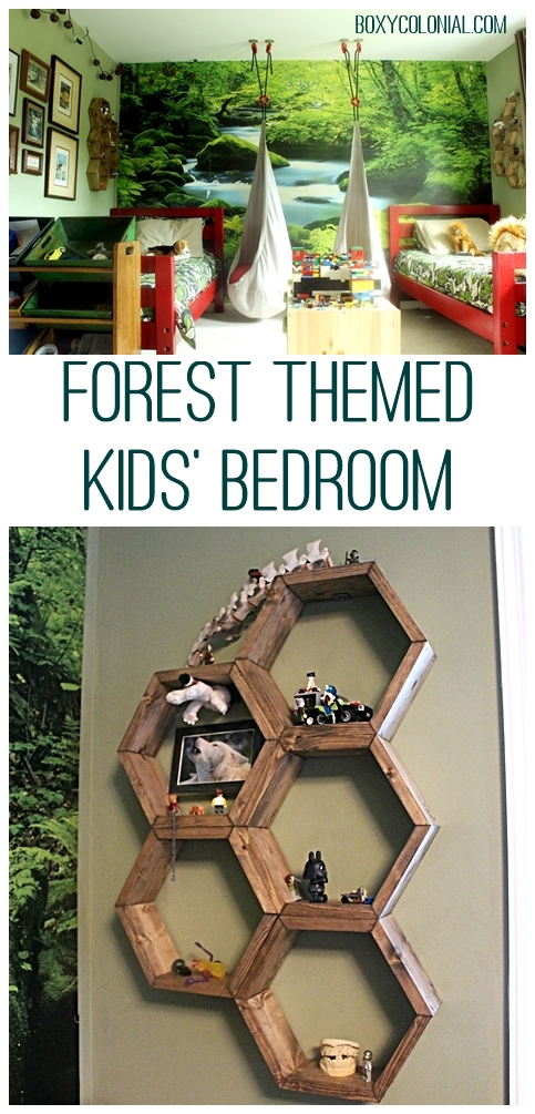 Tour this Forest-themed Kids' Bedroom