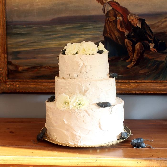 DIY Miss Havisham Wedding Cake